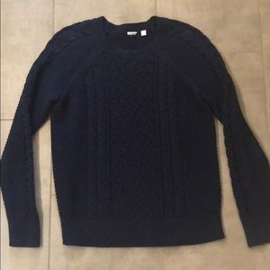 Gap Factory cable knit sweater